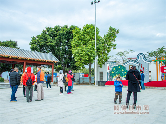 图说:杏坛桑麻村党建休闲公园建成投入使用。.jpg